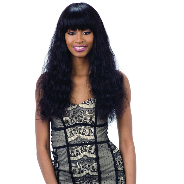 Shake-N-Go 100% Human Hair Naked Brazilian Natural Wig – Elliana