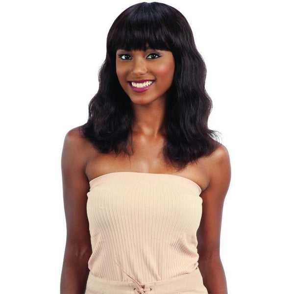 Shake-N-Go 100% Human Hair Naked Brazilian Natural Wig – S-Wave (Small)