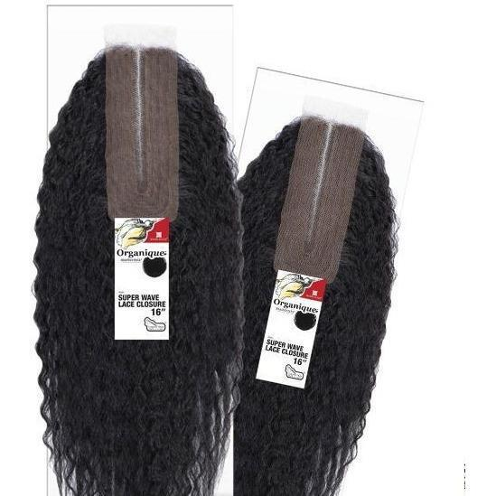 Shake-N-Go Organique MasterMix Synthetic Lace Closure – Super Wave 16""