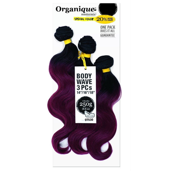 Shake-N-Go Organique MasterMix Weave – Body Wave 3PCS