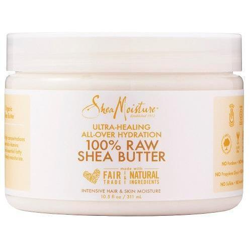 Shea Moisture 100% Raw Shea Butter 10.5 OZ