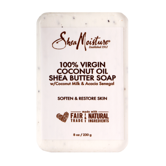 Shea Moisture 100% Virgin Coconut Oil Shea Butter Soap 8 OZ