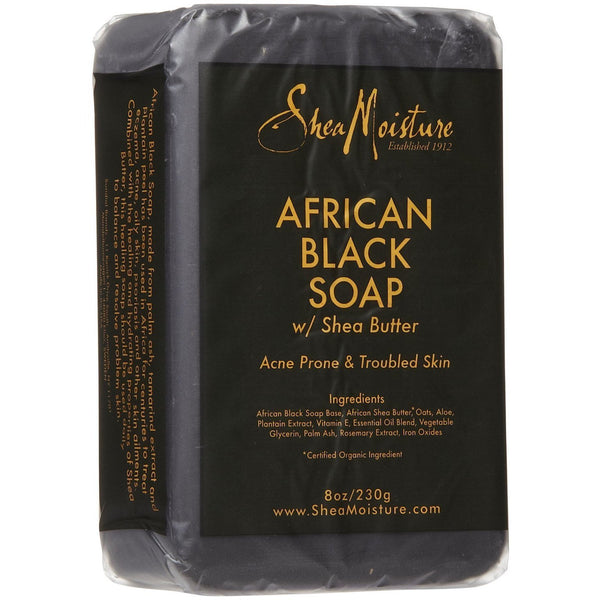 Shea Moisture African Black Soap 8 oz