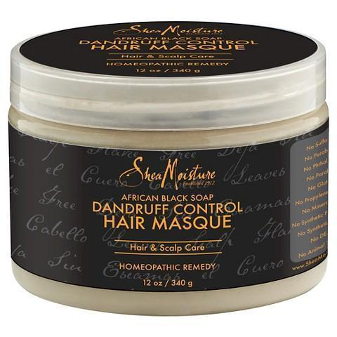 Shea Moisture African Black Soap Hair Masque 12 oz