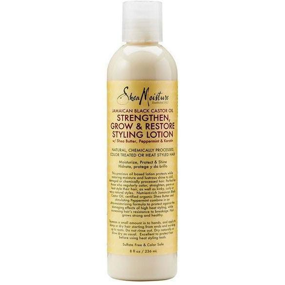 Shea Moisture Jamaican Black Castor Oil Styling Lotion 8 oz