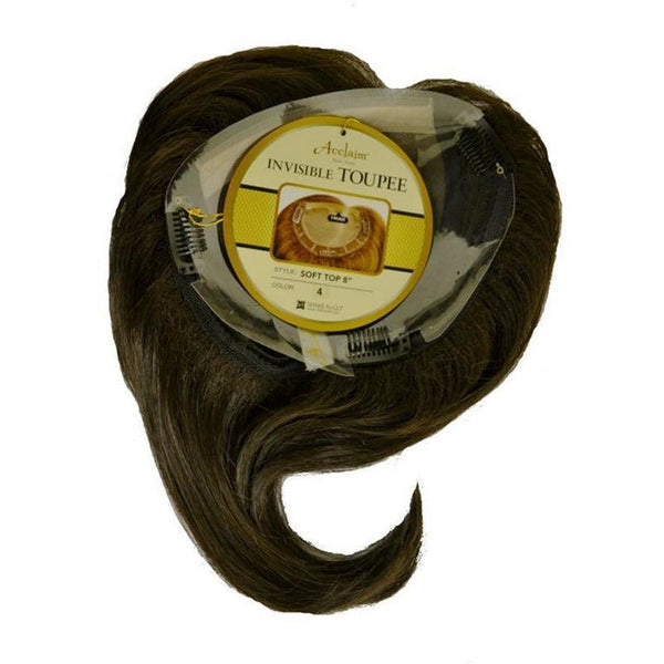 Acclaim New York Invisible Toupee – Soft Top 8""