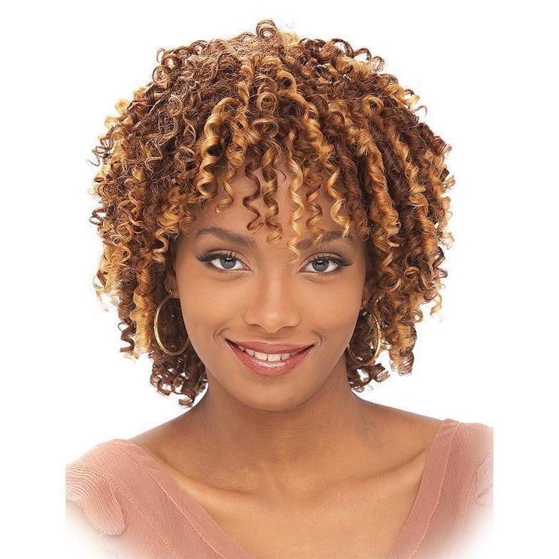 It's A Cap Weave! Wig – HH Straw Curl