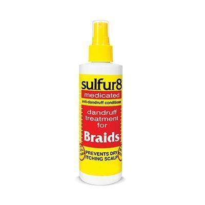Sulfur8 Medicated Anti-Dandruff Braid Spray 12 OZ