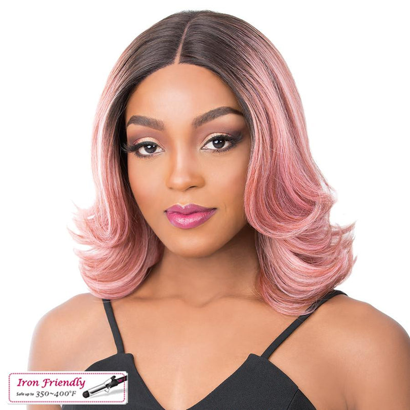 It's A Wig! Synthetic Swiss Lace Front Wig - Serafina