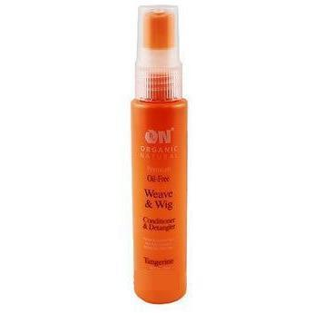 Organic Natural Wig & Weave Conditioner & Detangler Tangerine 2 OZ