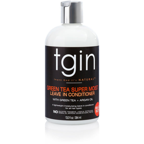 TGIN Green Tea Super Moist Leave-In Conditioner 13 OZ