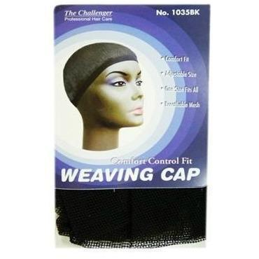 The Challenger Weaving Cap Black