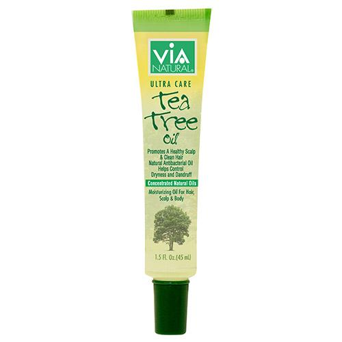 Via Natural Ultra Care Tea Tree Scalp & Skin Oil 1.5 OZ