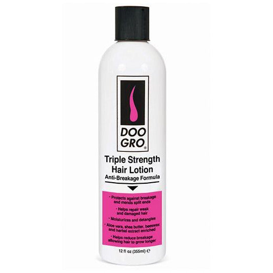 Doo Gro Triple Strength Hair Lotion Anti-Breakage Formula 10oz