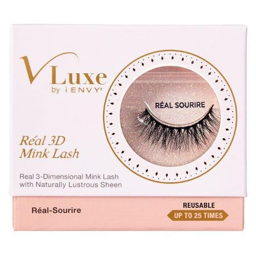 V-Luxe i-ENVY By Kiss Réal 3D Mink Eyelashes – VLER05 Réal-Sourire