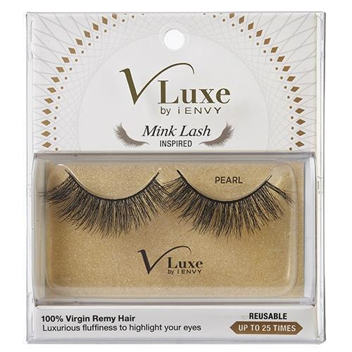 V-Luxe i-ENVY By Kiss Remy Hair Mink Lash Inspired Eyelashes – VLEF01 Pearl