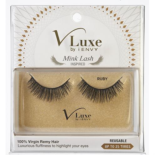 V-Luxe i-ENVY By Kiss Remy Hair Mink Lash Inspired Eyelashes – VLEF05 Ruby
