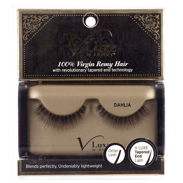 V-Luxe i-ENVY By Kiss Virgin Remy Eyelashes – VLE04 Dahlia