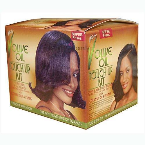 Vitale Olive Oil Touch Up Kit Conditioning No-Lye Relaxer SUPER