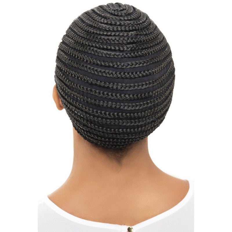 Vivica A. Fox Cornrow Express Cap w/Combs – Horseshoe