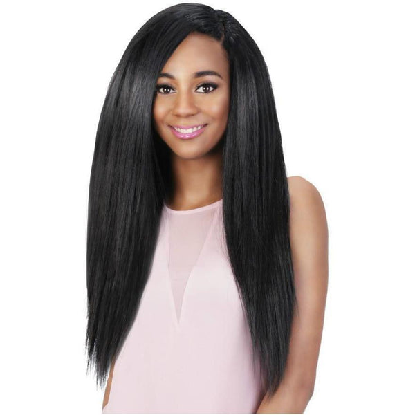 Vivica A. Fox Love Lock Human Hair Blend Crochet Loop Braids – Natural Perm