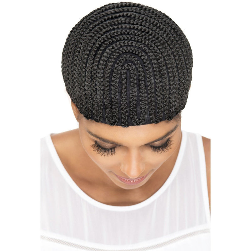 Vivica A. Fox Regular Cornrow Express Cap – Horseshoe