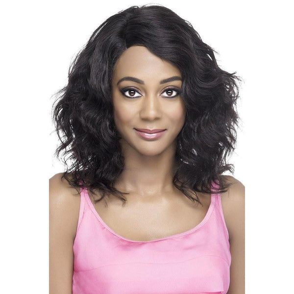 Vivica A. Fox 100% Brazilian Natural Remi Human Hair Swiss Lace Front Wig – Annette