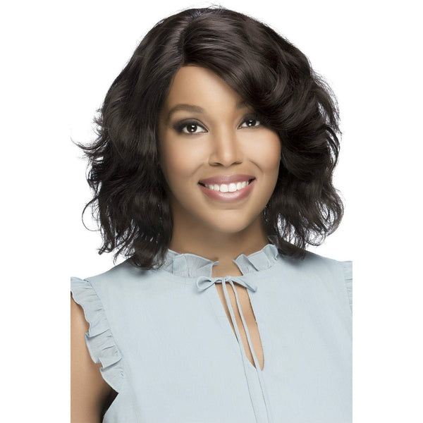 Vivica A. Fox 100% Brazilian Natural Remi Human Hair Swiss Lace Front Wig – Kacey