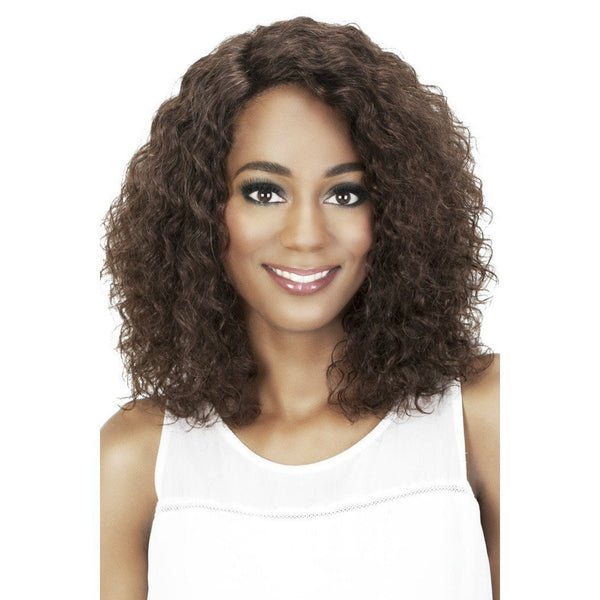 Vivica A. Fox 100% Brazilian Natural Remi Human Hair Swiss Lace Front Wig – Melanie