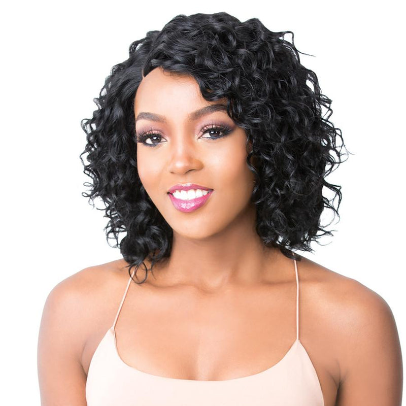 It's A Wig! 100% Brazilian Human Hair Lace Front Wig - HH Sonya