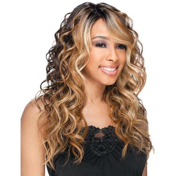 FreeTress Equal Deep Invisible Part Synthetic  Lace Front Wig – Bently