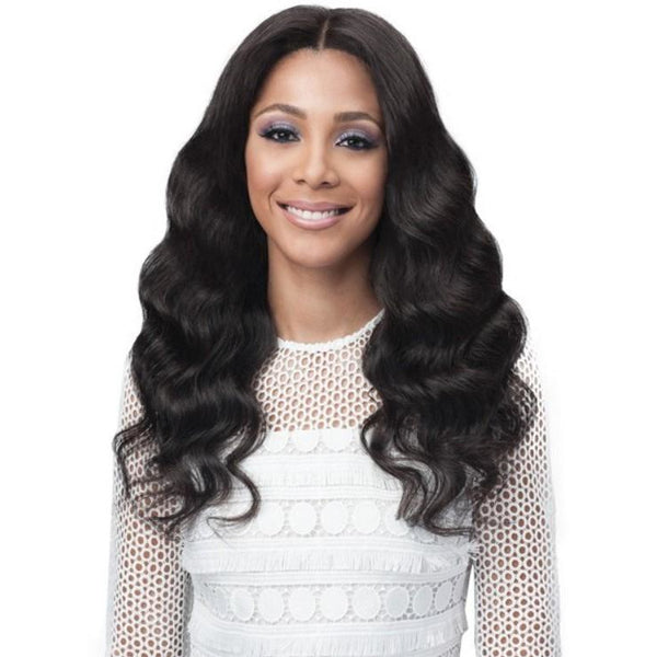 Bobbi Boss Unprocessed Bundle Hair Full Lace Wig - Ocean Wave 24""