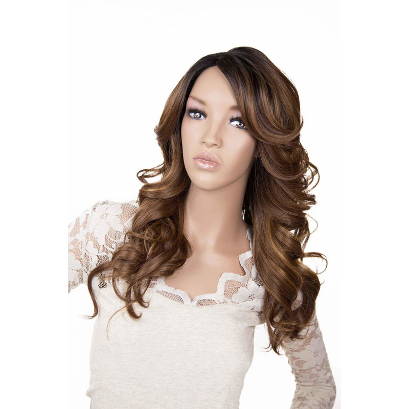Zury Sis Invisible Top Part Synthetic Lace Wig – Ari