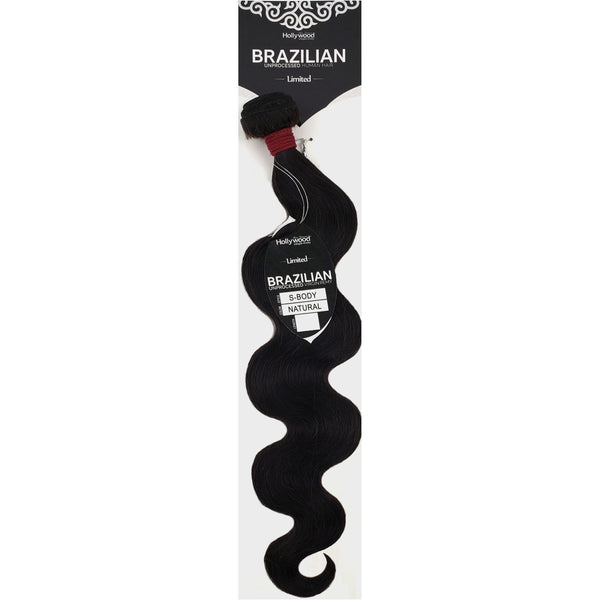 Zury Hollywood Brazilian Limited Unprocessed Virgin Remy Human Hair Weave – S-Body
