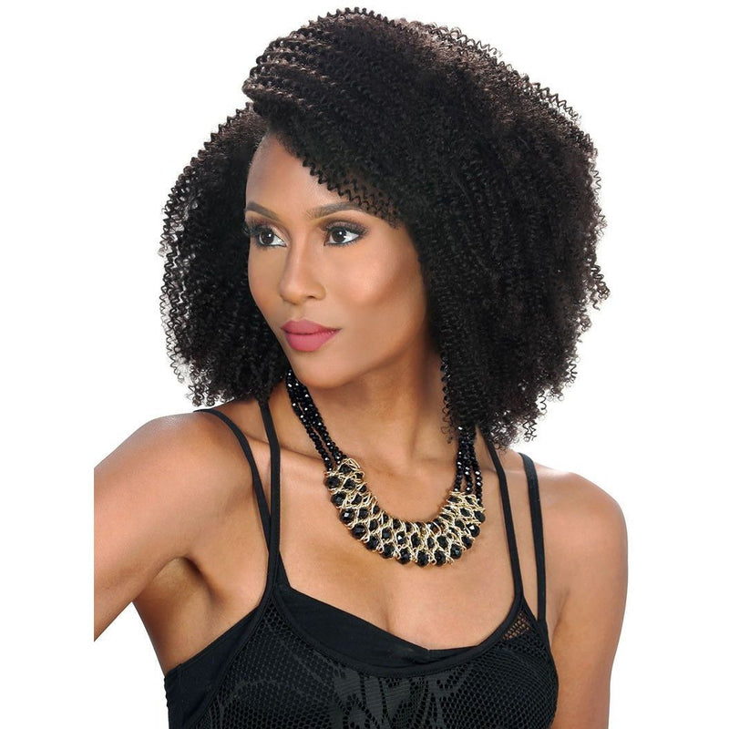 Zury Sis Naturali Star 100% Human Hair Clip-On 9 Weave – 4B Kinky
