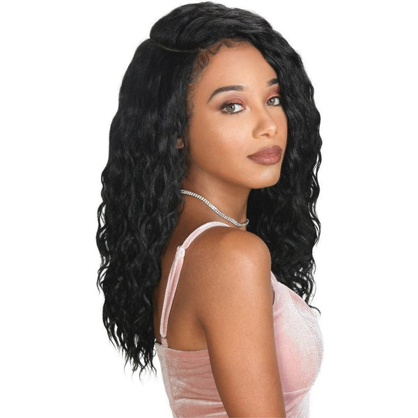 Zury Synthetic Sis Sassy Half Moon Part Wig – Moda