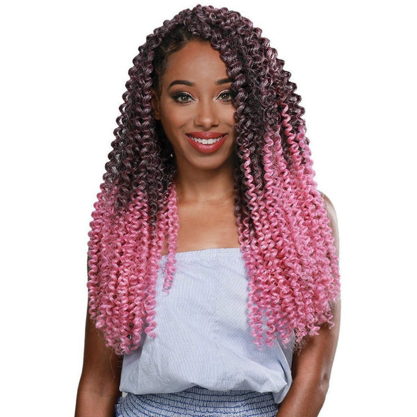 Zury Pre-Stretched Crochet Synthetic Braids – 3X Water Wave 20""