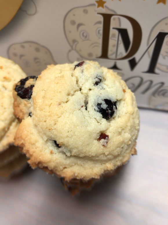 Dacy Marie Gluten-Free Cranberry Almond Cookies