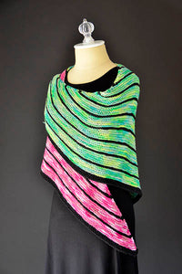 Staggered Shawl - Yarn Hoppers