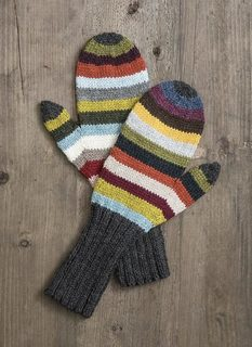 No. 201725 - 21 Color Mittens Kit - Yarn Hoppers