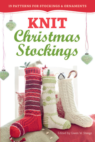 Knit Christmas Stockings - Yarn Hoppers