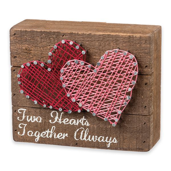 Two Hearts Together Always - Yarn Hoppers