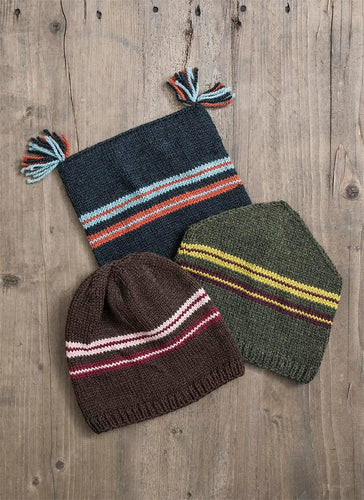 Ski Trio Hat Kit - Yarn Hoppers