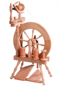 Traveller Spinning Wheel - Yarn Hoppers
