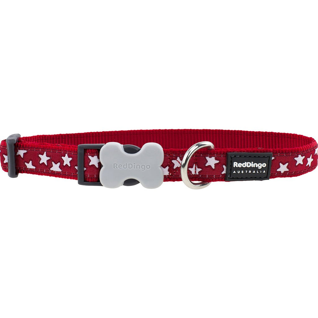 Red Star Red Dingo Dog Collar - Dog Collar