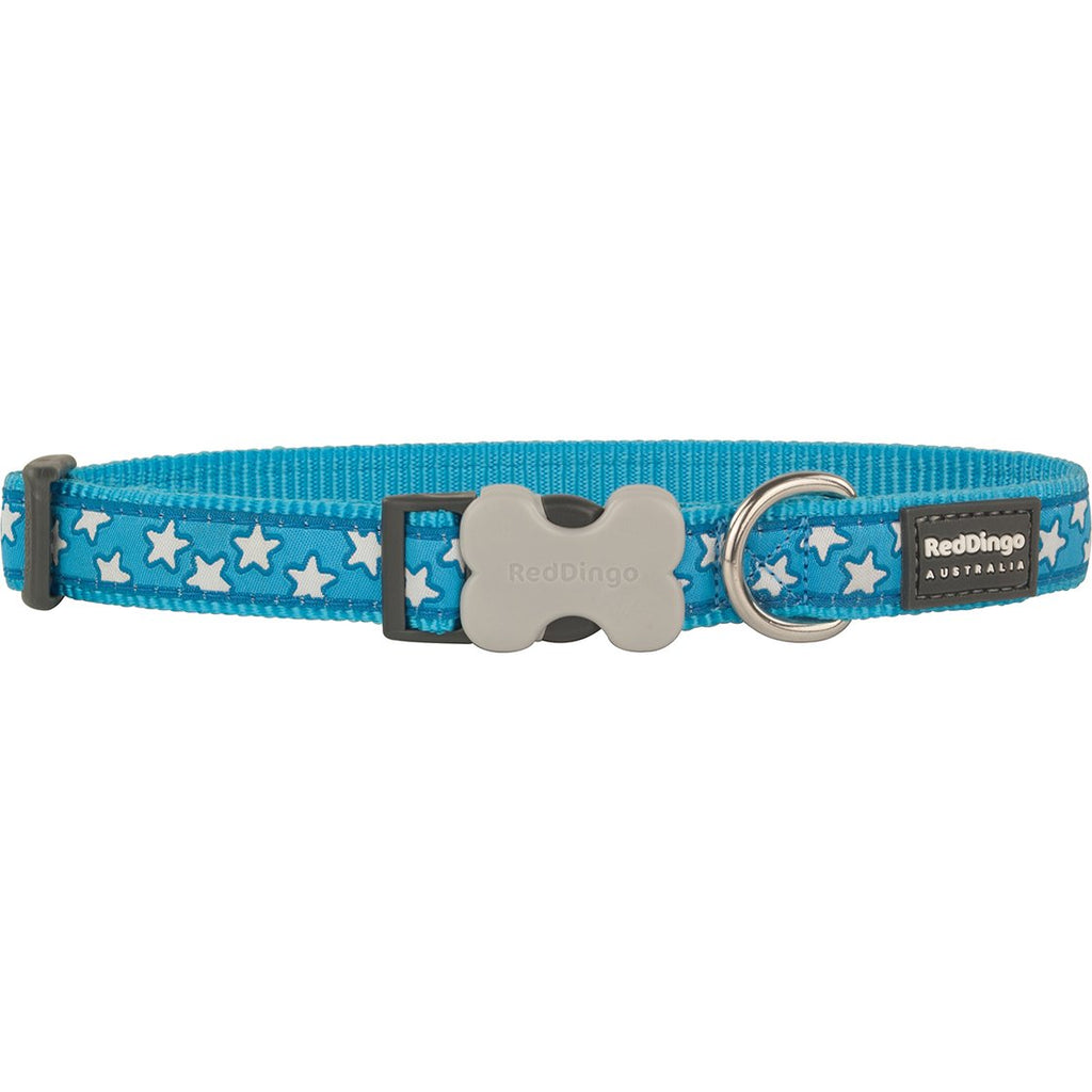 Blue Star Red Dingo Dog Collar - Dog Collar