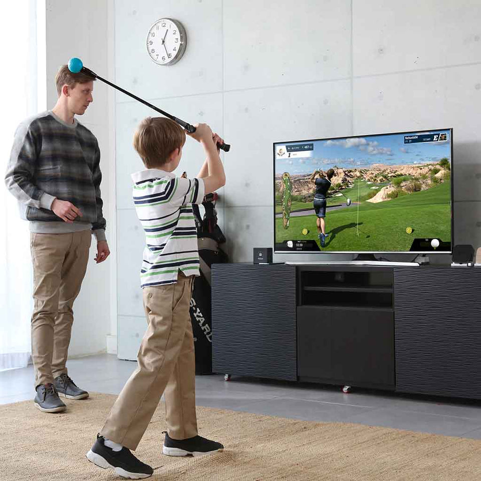 Child playing Phigolf WGT Edition