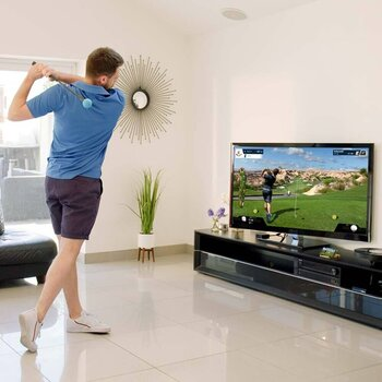 Phigolf adult gameplay living room