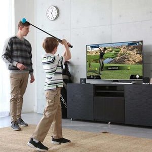 Phigolf child gameplay in home
