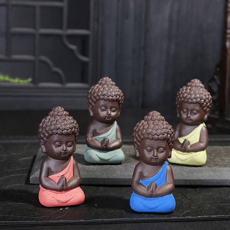 Mini Chinese Buddhism Zen Monks